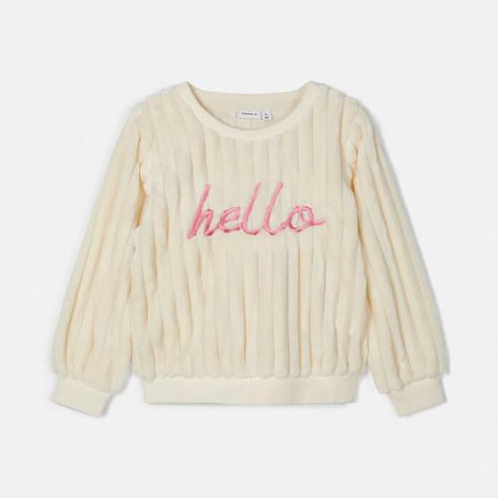 Name it Embroidered Teddy Infants' Sweatshirt