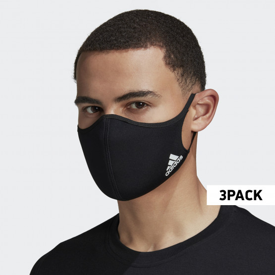 adidas Performance 3-Pack Mask - M/L