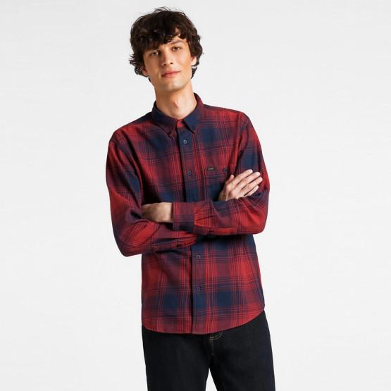 Lee Riveted Shirt Red Ochre