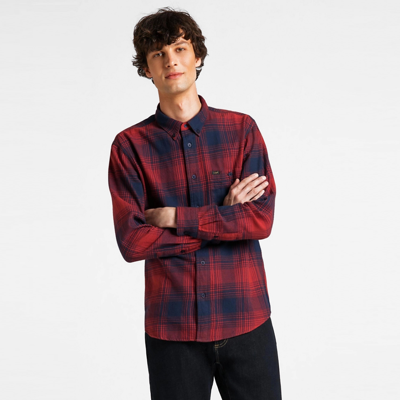 Lee Riveted Shirt Ανδρικό Πουκάμισο (9000066579_18504)
