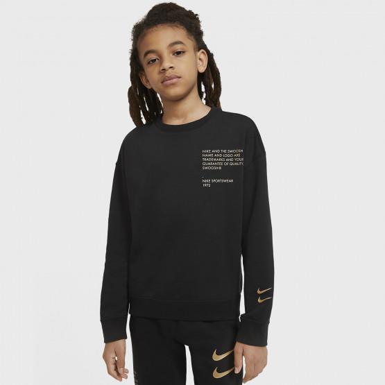 Nike Sportswear Swoosh Crew Kids' Sweatshirt