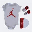 Jordan Jumpman Hat /Bodysuit /Bootie Set 3Pc for Babies
