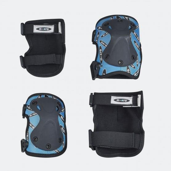 Micro Knee and Elbow Pads Blue Medium