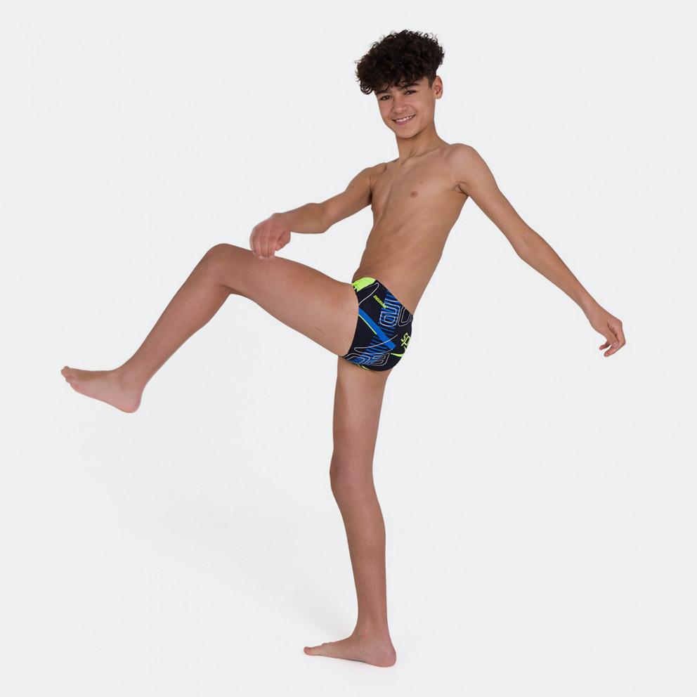 Speedo Allover 6.5Cm Brief Kid's Swimsuit