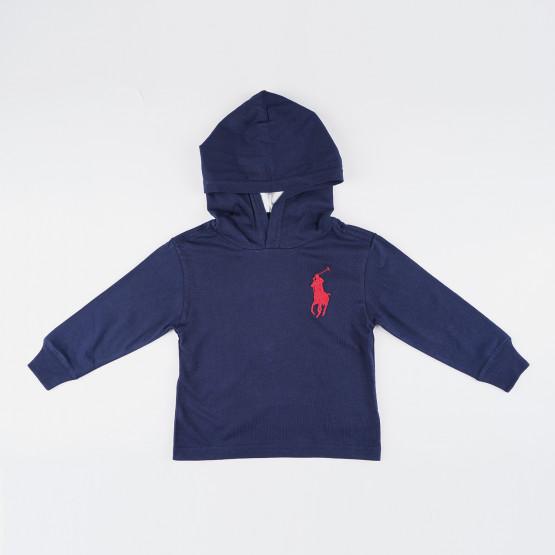 Polo Ralph Lauren  Βρεφική Μπλούζα με Κουκούλα