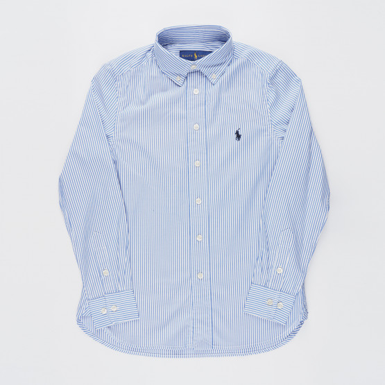 Polo Ralph Lauren Slim Striped Oxford Youth Shirt