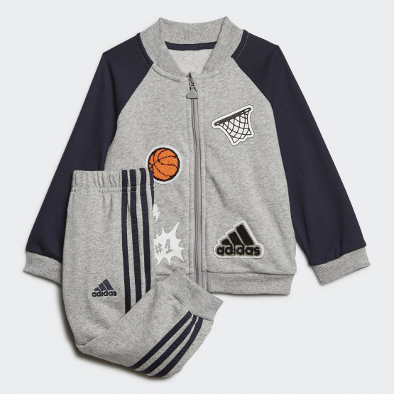 adidas Collegiate Track Suit Βρεφικό Σετ Φόρμας