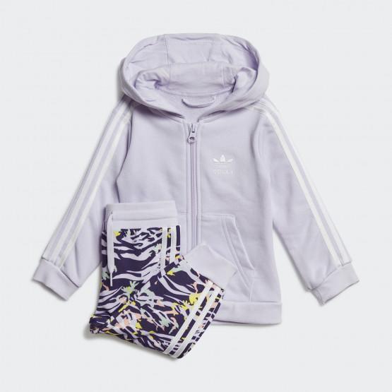 adidas Originals Toddlers' Full-Zip Hoodie Set