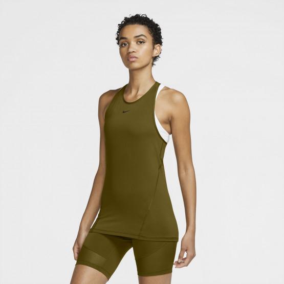 Nike Pro Γυναικεία Αμάνικη Μπλούζα