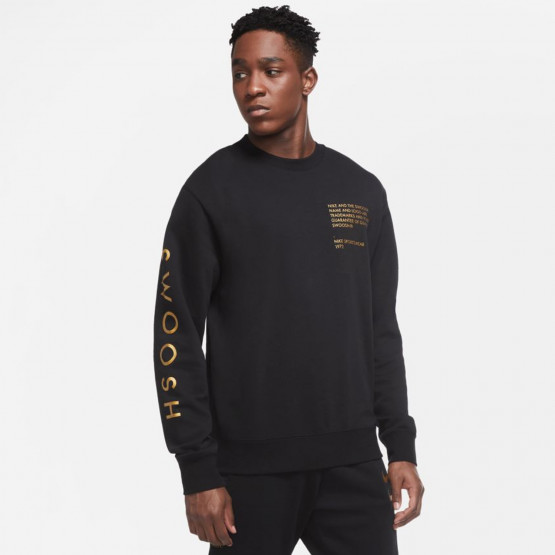 Nike Sportswear Swoosh Ανδρική Μπλούζα Φούτερ