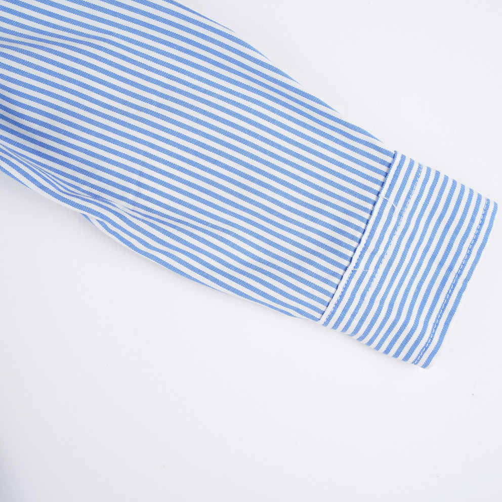 Polo Ralph Lauren Slim Striped Oxford Βρεφικό Πουκάμισο