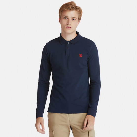 Timberland Millers River Men's Long Sleeve Polo Shirt