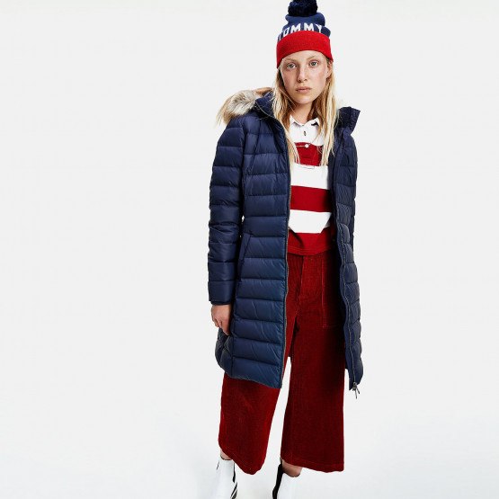 Tommy Jeans Essential Hooded Down Women's Coat