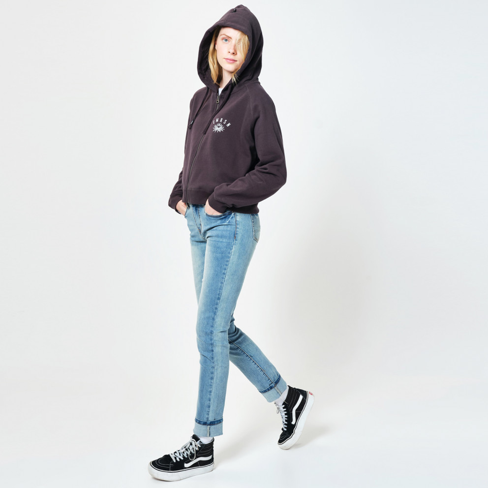 Emerson Cropped Women's Hooded Jacket