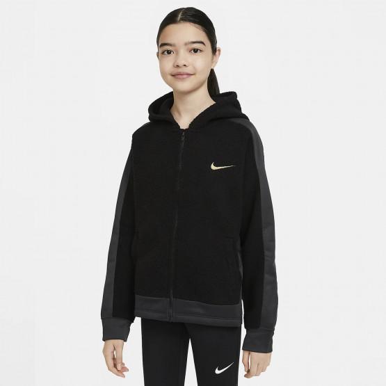 Nike Therma Kids' Full-Zip Hoodie