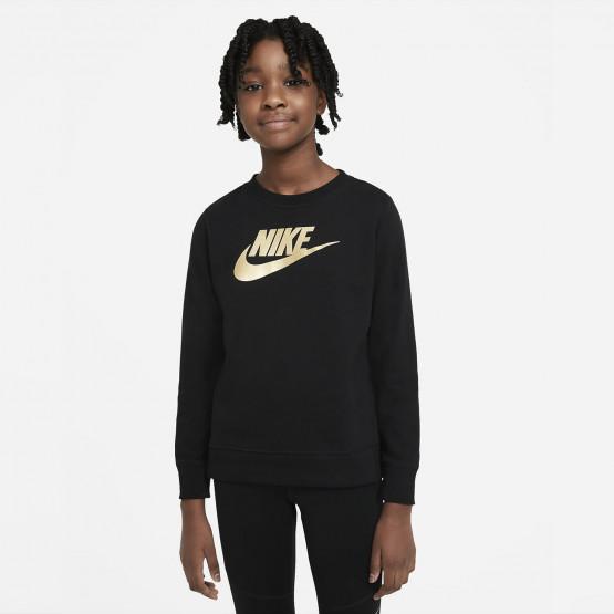 Nike Sportswear Shine Ft Crew Q5 Kid's Jacket