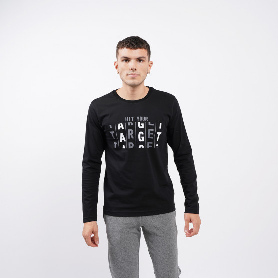 "Target ""Hit Your Target"" Men's Long Sleeve T-shirt"
