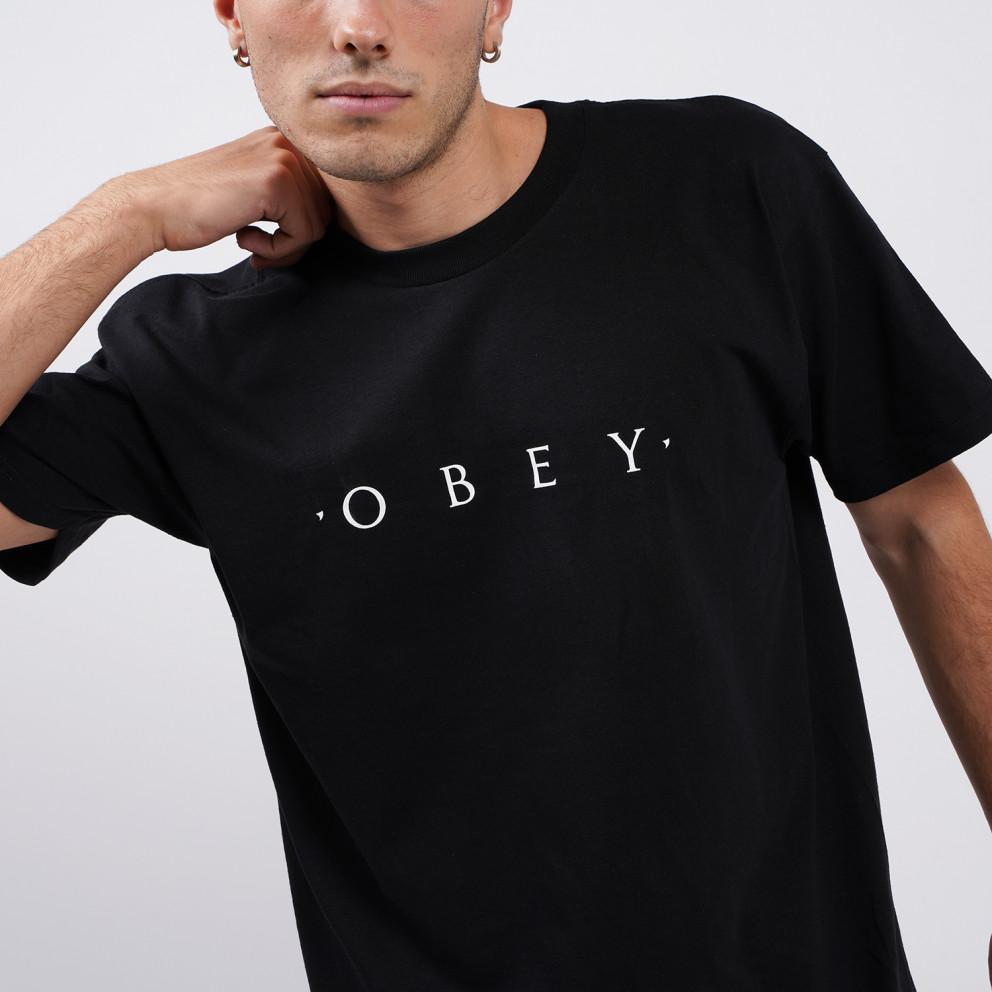 Obey Novel Classic Ανδρική Μπλούζα