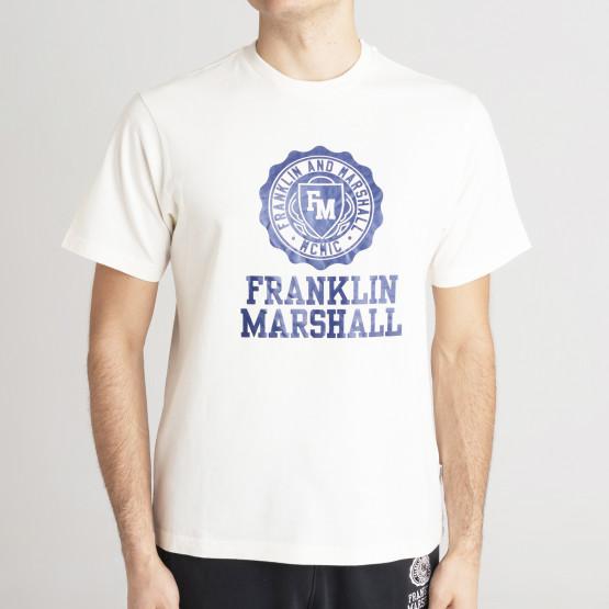 Franklin & Marshall Logo Men's Τ-Shirt