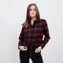 Tommy Jeans Check Front Knot Shirt Γυναικείο Πουκάμισο