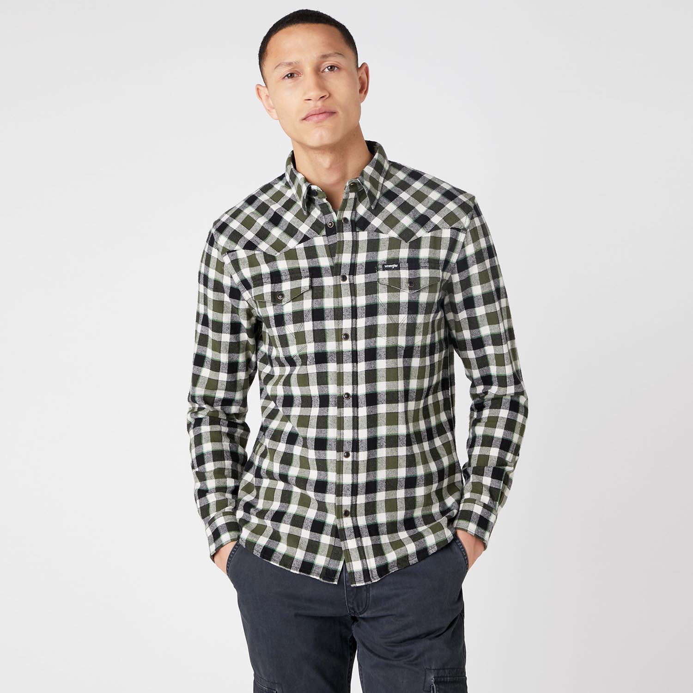 Wrangler Western Shirt Ανδρικό Πουκάμισο (9000066714_49505)