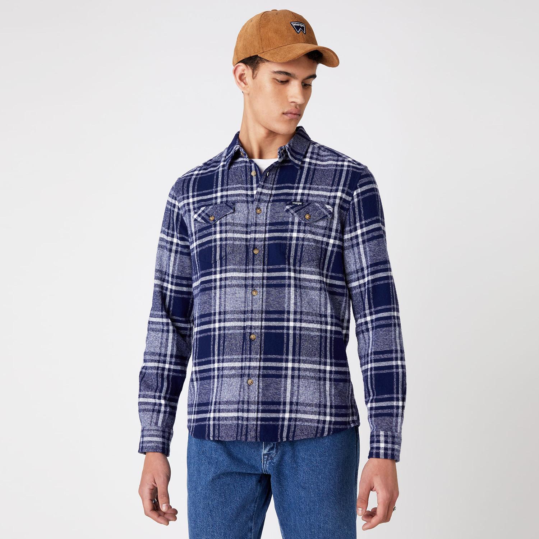 Wrangler Two Pocket Flap Shirt Ανδρικό Πουκάμισο (9000066775_4778)