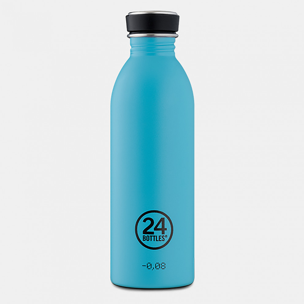 24Bottles Urban Lagoon Blue Ανοξείδωτο Μπουκάλι 500ml