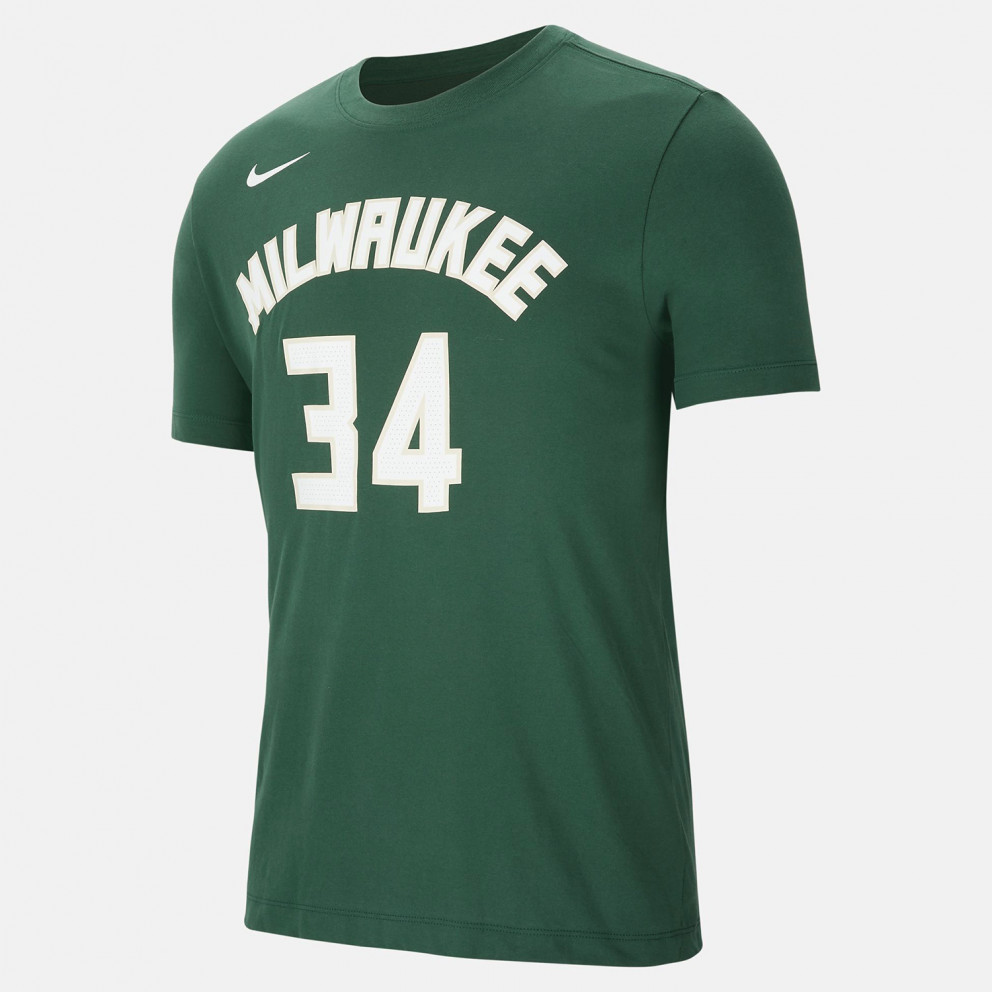 Nike NBA Giannis Antetokounmpo Milwaukee Bucks Ανδρικό T-Shirt