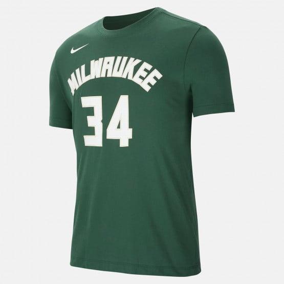 Nike NBA Giannis Antetokounmpo Milwaukee Bucks Men's T-Shirt