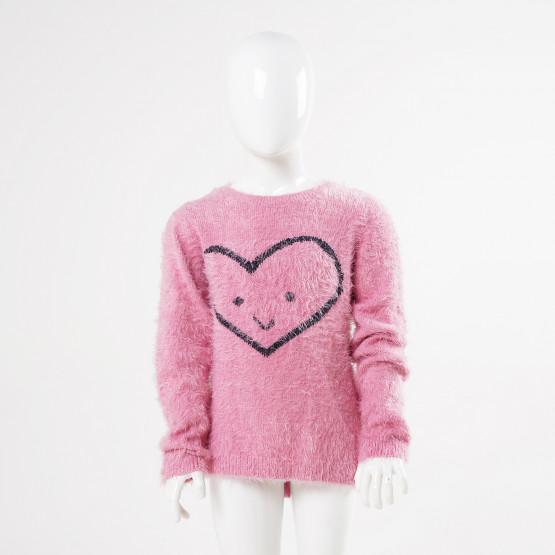 Name it Faux Fur Παιδική Μακρυμάνικη Μπλούζα