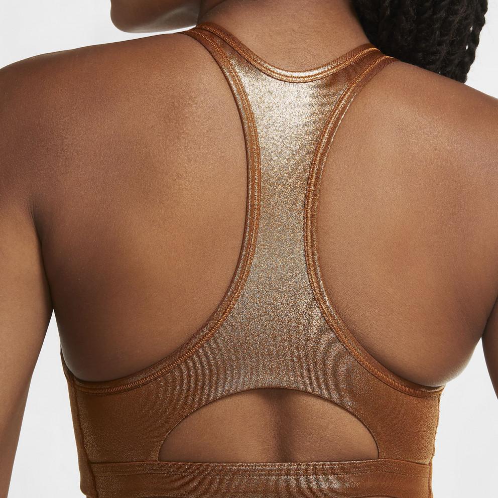 Nike Swoosh Icon Clash Shimmer Women's Medium-Support Bra