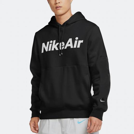 Nike Air Logo Ανδρική Μπλούζα με Κουκούλα