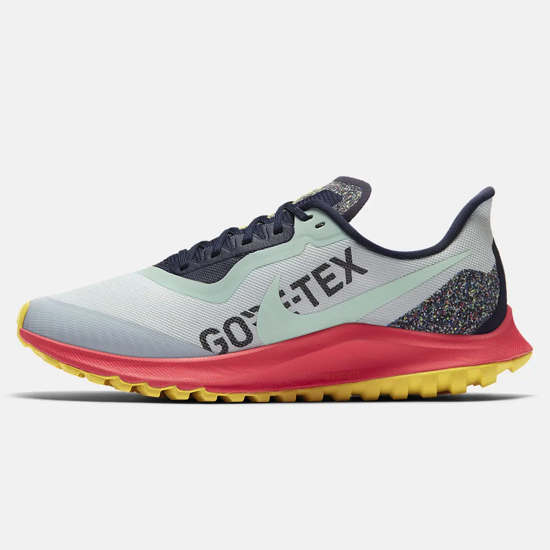 Nike Air Zoom Pegasus 36 Trail GORE-TEX Women's Shoes Blue CW2364-400