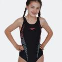 Speedo Plastisol Placement Muscleback Kid's Overall Swimsuit