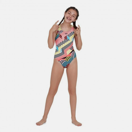 Speedo Dazzlespark Digital Placement Kid's Overall Swimsuit