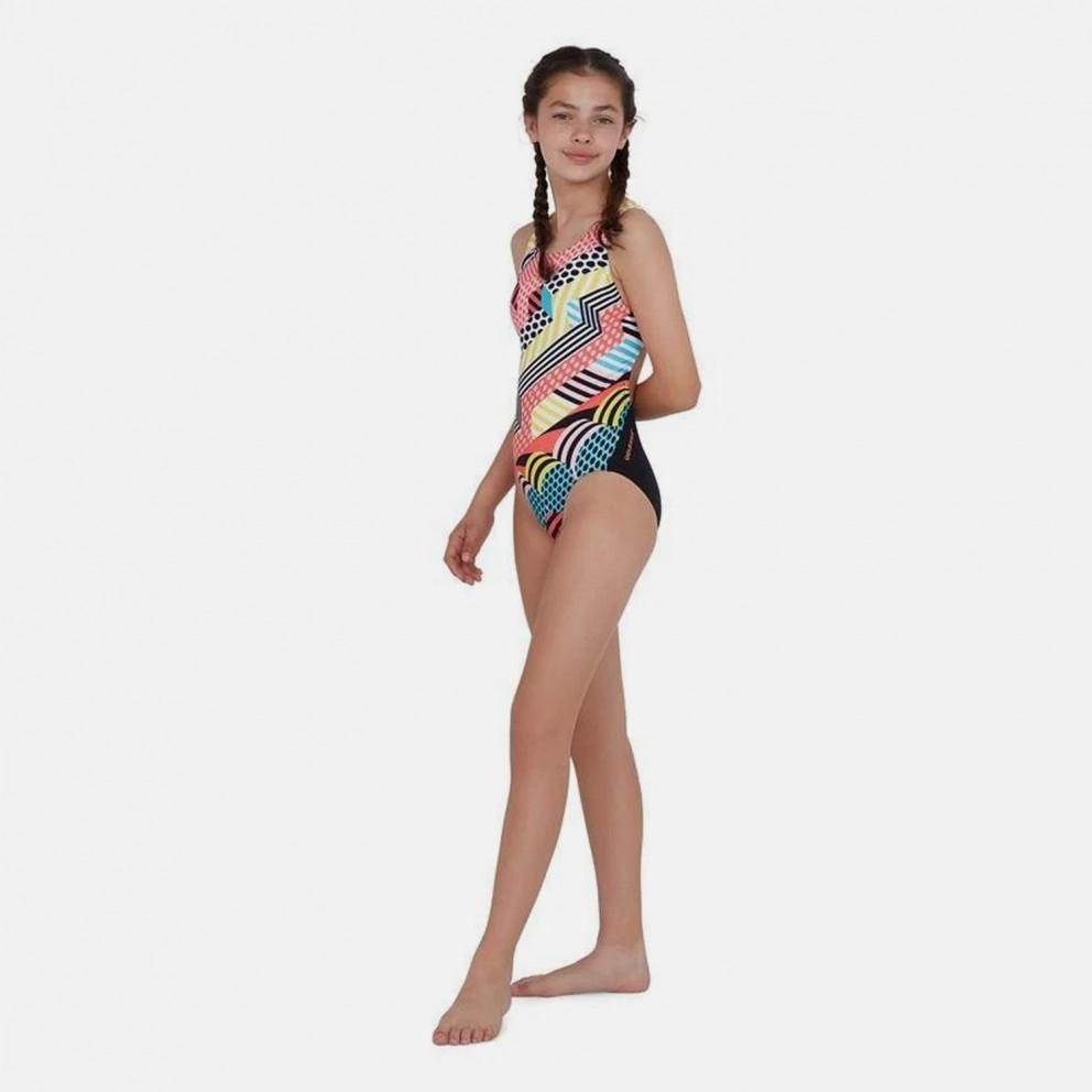Speedo Dazzlespark Digital Placement Kid's Overall Swimsuit