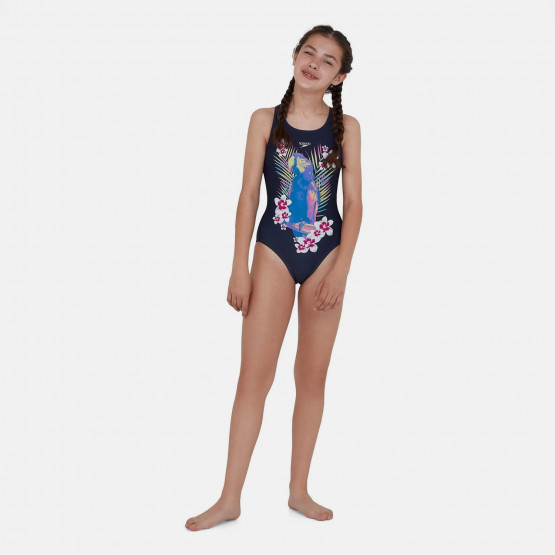 Speedo Jungleglare Allover Splashback Kid's Overall Swimsuit