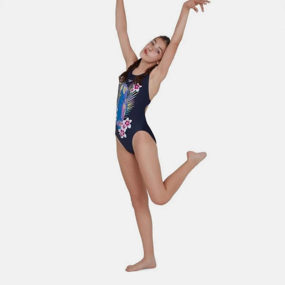 Speedo Jungleglare Allover Splashback Kid's Overall Swimsuit