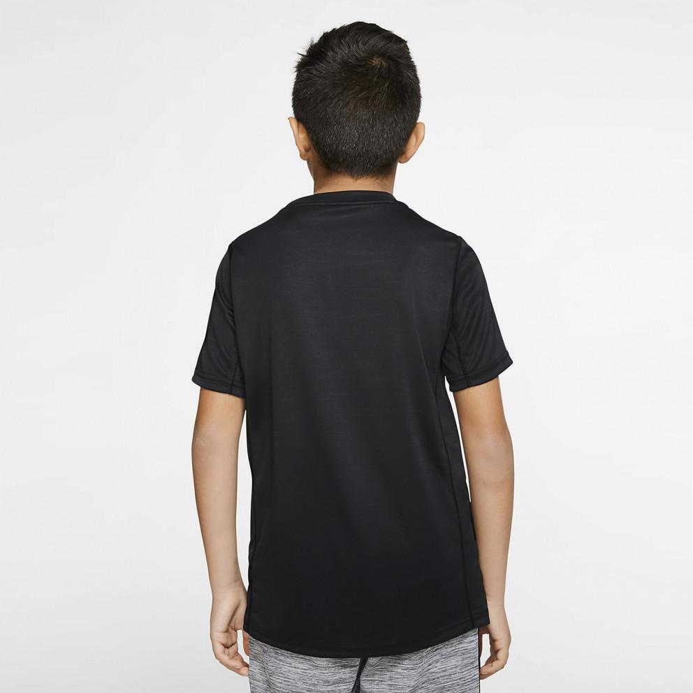 Nike Dri-Fit Swoosh Jr Παιδικό T-Shirt
