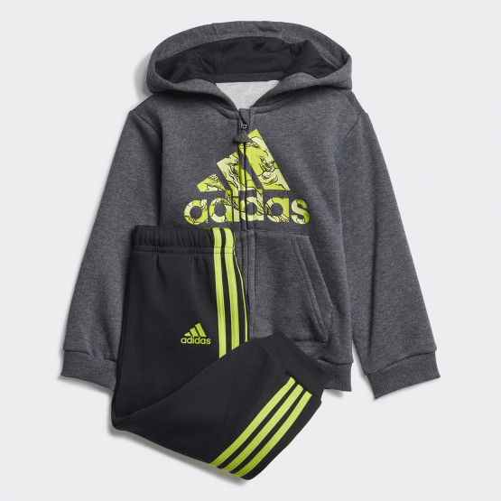 adidas Fleece Hooded Jogger Set for Babies