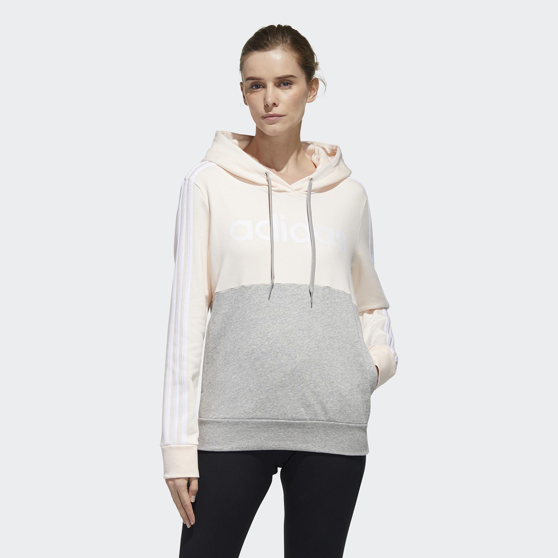 adidas Essentials Colorblock Fleece Hoodie Γυναικείο Φούτερ με Κουκούλα (9000067625_47350)
