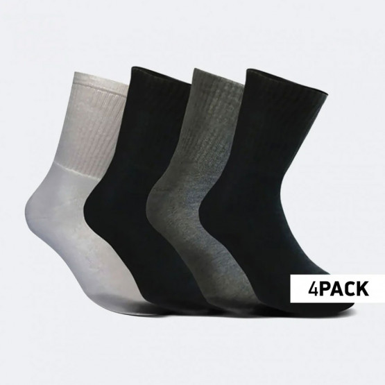 Cosmos Sport 4-Pack Unisex Crew Κάλτσες