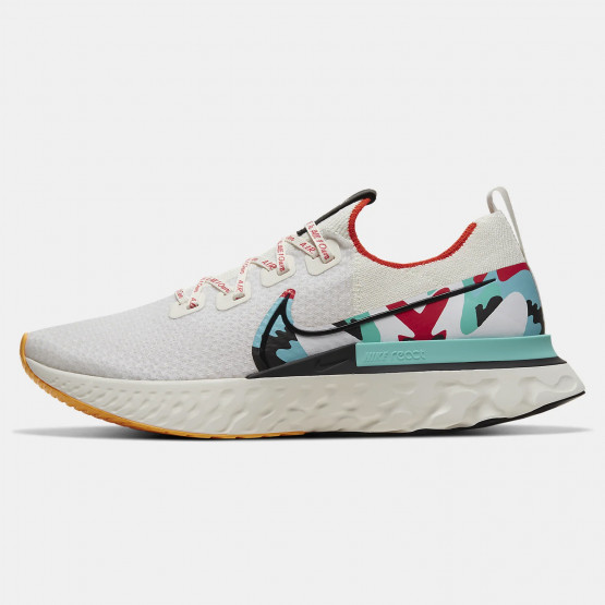 Nike React Infinity Run Flyknit A.I.R. Ανδρικά Παπούτσια για Τρέξιμο