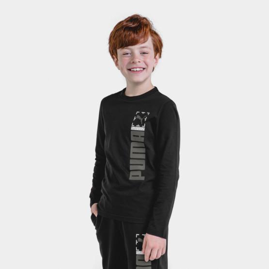 Puma Active Sports Kid's Long-Sleeve Shirt
