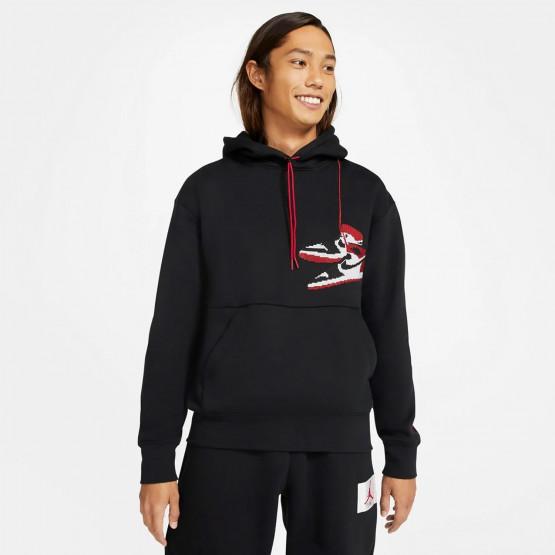 Jordan Jumpman Holiday Ανδρική Μακρυμάνικη Μπλούζα με Κουκούλα