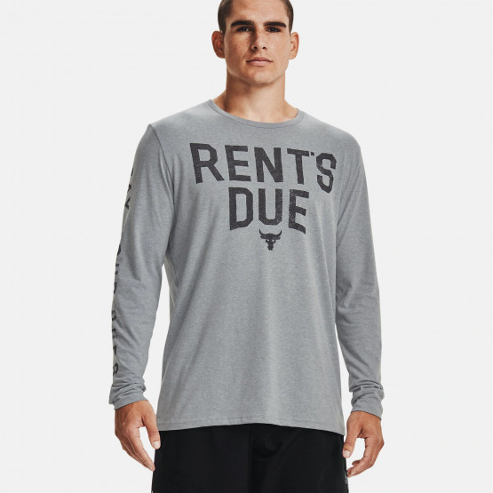Under Armour Project Rock Rents Due Men's Long-Sleeved T-Shirt
