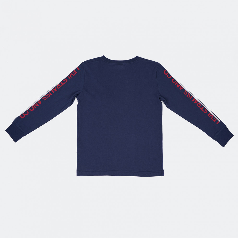Levis Graphic Kid's Long-Sleeve Shirt