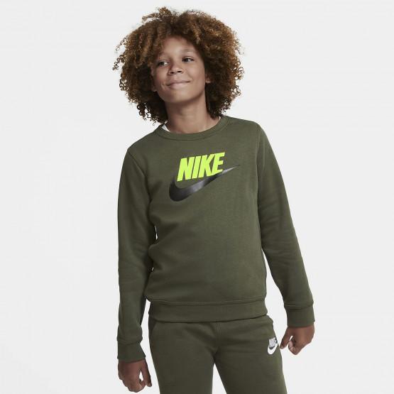 Nike Sportswear Club Fleece Παιδική Μακρυμάνικη Μπλούζα