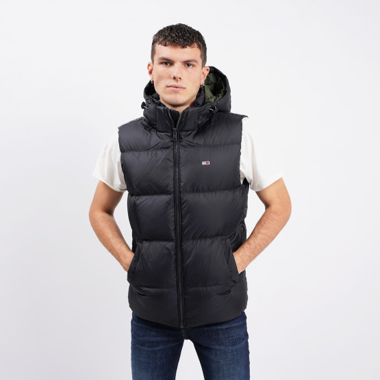 Tommy Jeans Padded Down Vest Ανδρικό Γιλέκο