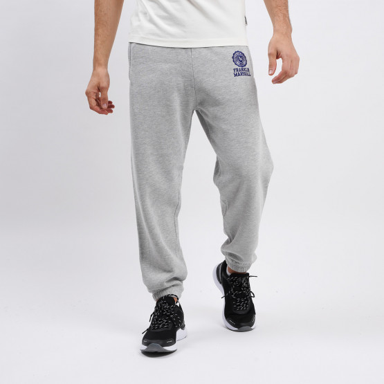 Franklin & Marshall Cotton Fleece Mini Logo Men's Track Pants